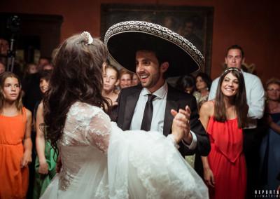 Boda mexicana Labro Italia